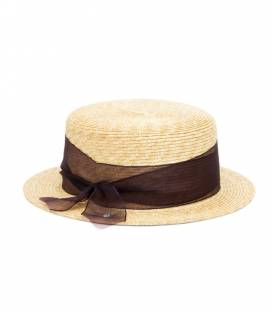 MIMI Boat hat Brown