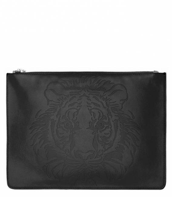 THE EYE OF THE TIGER Black pouch