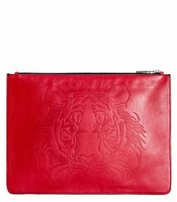 THE EYE OF THE TIGER Red pouch