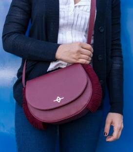 RUKI Crossbody bag Burgundy