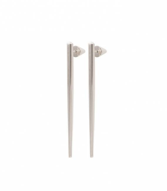 SCALA drop earrings Silver