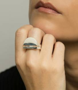 ARCO ring silver
