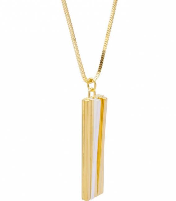 SCALA pendant gold on Sterling silver