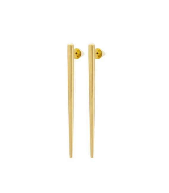 SCALA drop earrings gold