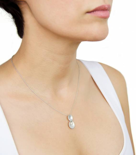 ORIGIN Necklace Silver