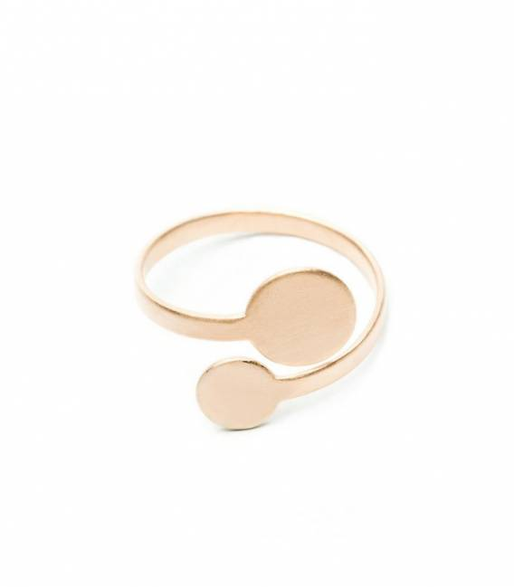 MIRA ring 2R Rose gold