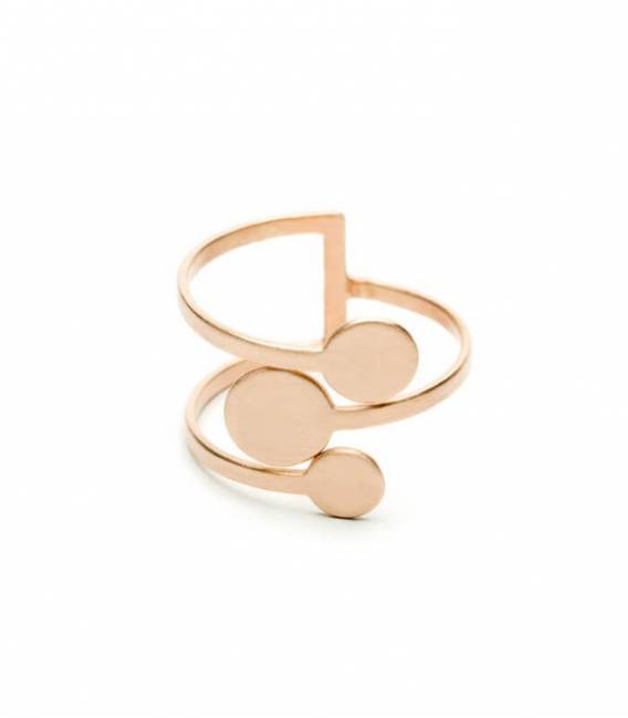 MIRA ring 3R Rose gold