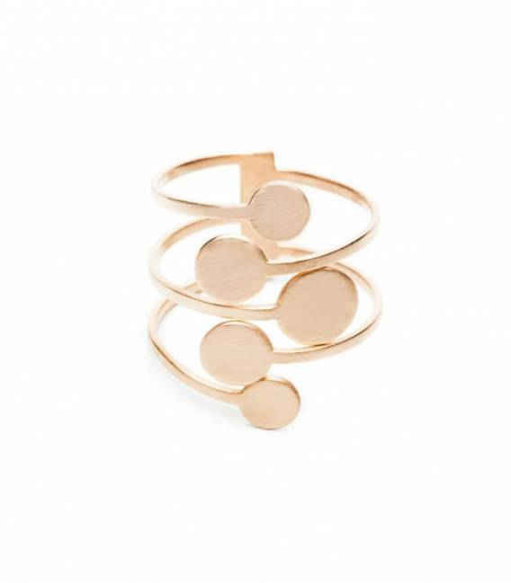 MIRA ring 5R Rose gold
