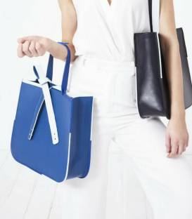 BLUE CHARM Tote bag
