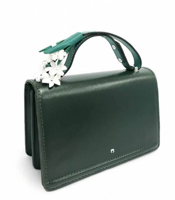 Pochette DARK GREEN HYACINTH