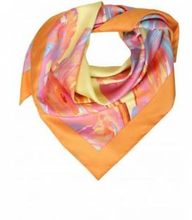 RAINBOW Neckerchief silk scarf