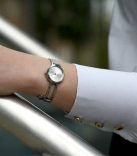 VALENA Silver Watch