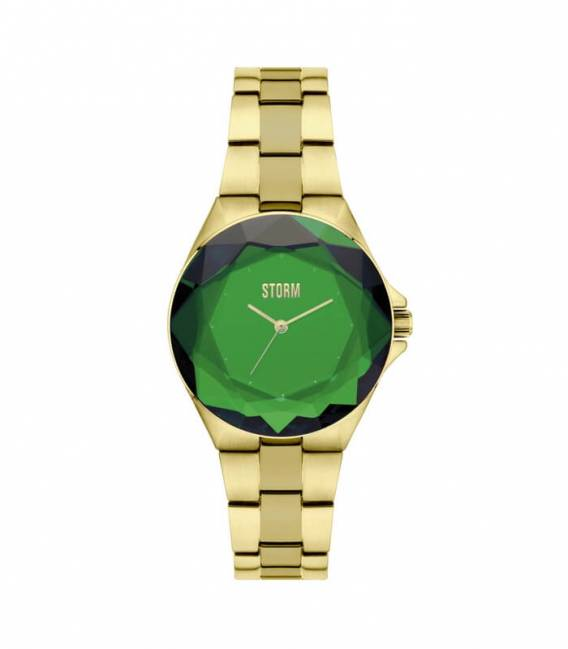 Montre CRYSTANA Gold Green