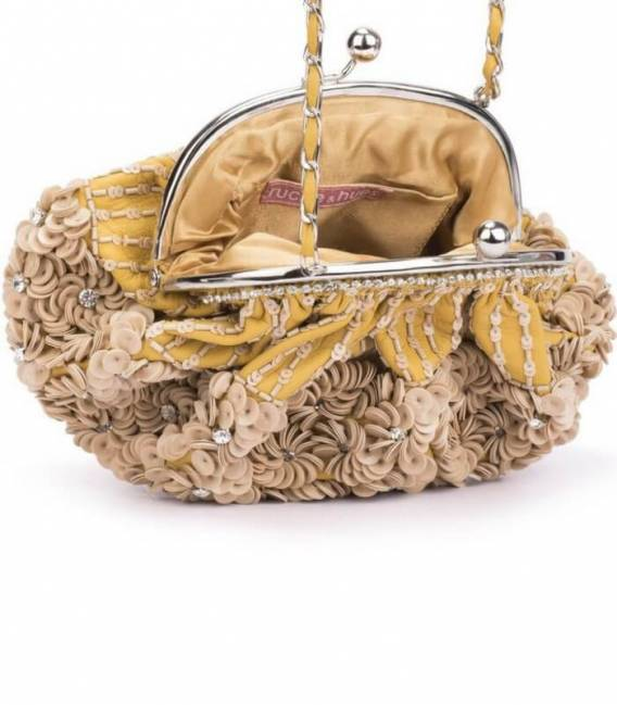 FLORAL CRYSTALS Minaudiere