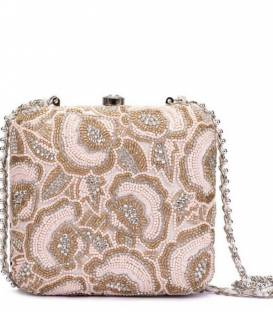 PINK BLISS CRYSTAL Minaudiere
