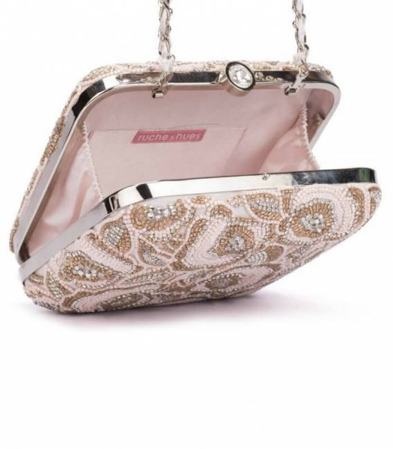 Minaudière PINK BLISS CRYSTAL