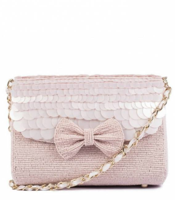 ANGEL GLOW BEADED Bag