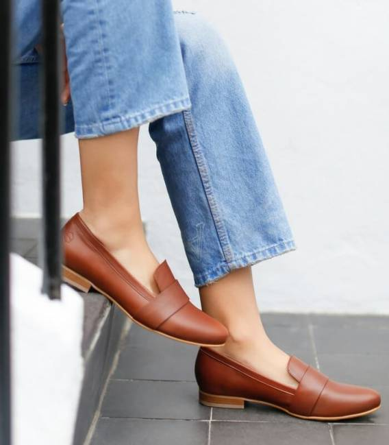 PORTOBELLO CAMEL Loafers