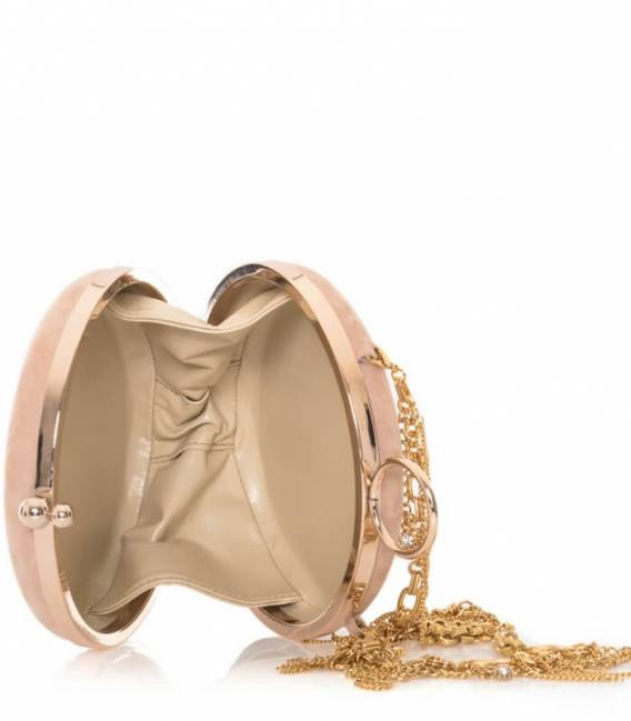 Powdery Pink LINDA Clutch