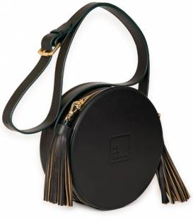 Black & Nude CIRCLE bag