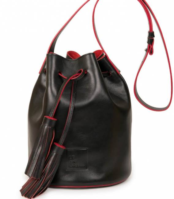 Sac Seau Black & Red