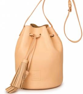 Nude Bucket Bag