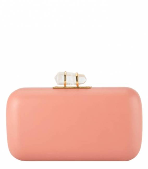 PEACH & GOLD Clutch