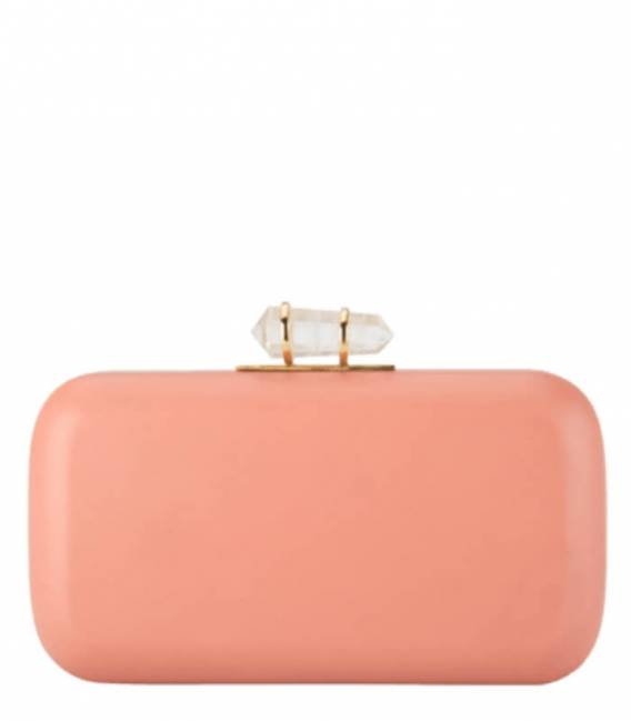 PEACH & SKY BLUE Clutch