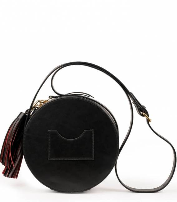 Black & Red CIRCLE Bag