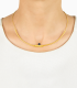 SOLO MOUJ Necklace – Gold & Peacock Pearl