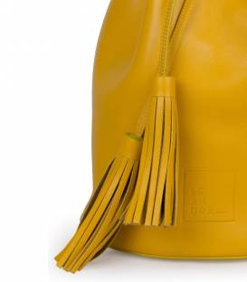 Yellow Bucket Bag