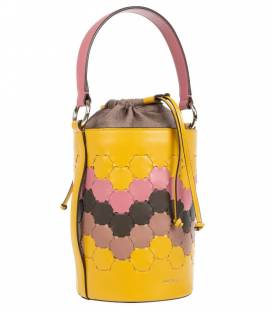 FERIDE Cylinder Bag Yellow