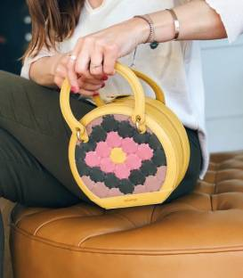 Sac Rond HALIDE Yellow