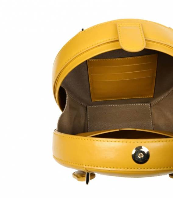 HALIDE Circle Bag Yellow