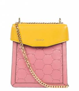 FUREYA Bag Pink & Yellow