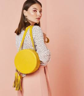 Yellow CIRCLE Bag