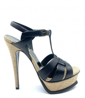 TRIBUTE Sandals Black beige