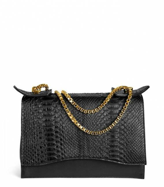Bag Diavolino XL Black Python