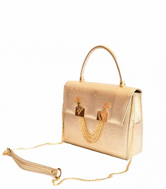 MINI BELLE bag Gold