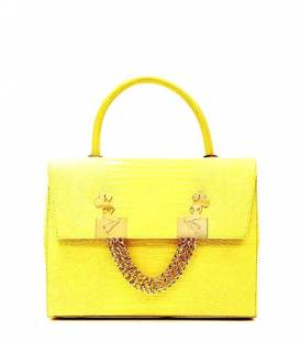 MINI BELLE bag Yellow