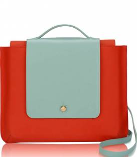 Masai Red Kolorama Satchel