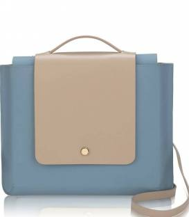 Arctic Blue Kolorama Satchel