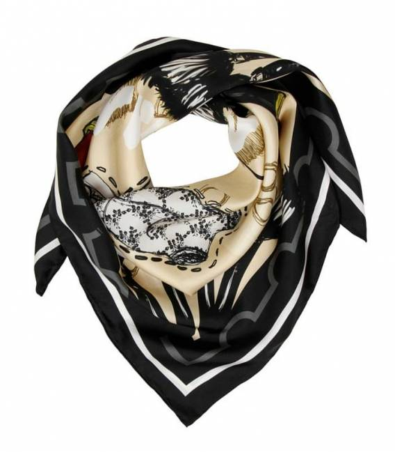 MY FAVORITE THINGS Silk scarf