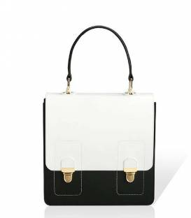 Black & White NewSchool Satchel