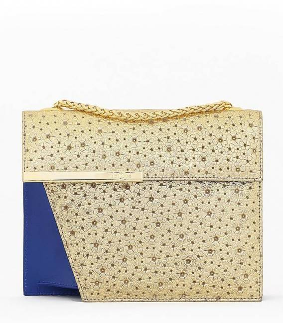 THE CUT- Bag Gold & Blue