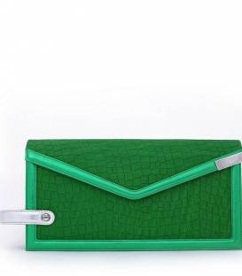 THE TRIAD Green clutch
