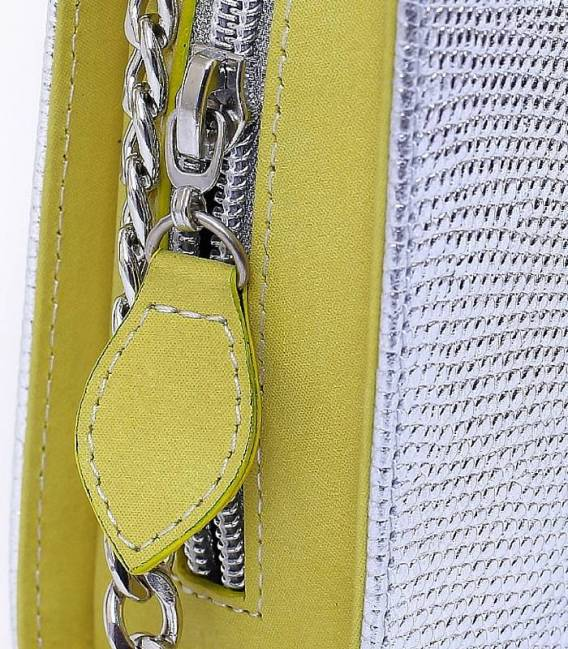 THE VOID Bag - Yellow & Silver