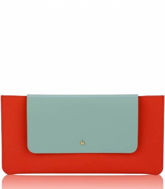 Red KOLORAMA Clutch
