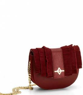 LUNA Burgundy Crossbody bag