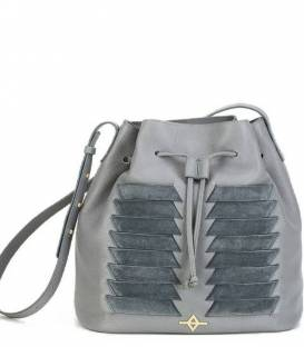 MUNI Grey Bucket bag